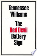The Red Devil Battery Sign