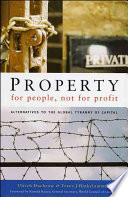 Property For People Not For Profit Book PDF