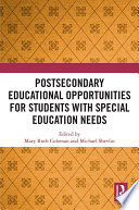 Postsecondary Educational Opportunities for Students with Special Education Needs