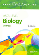 As/A-Level Biology Book Cover