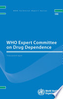Who Expert Committee On Drug Dependence Book PDF