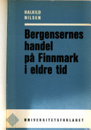 Bergensernes handel på Finnmark i eldre tid