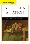 Cengage Advantage Books  a People and a Nation Book