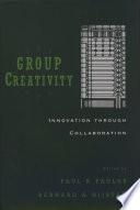 Group Creativity Book PDF