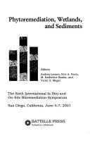 Phytoremediation  Wetlands  and Sediments Book
