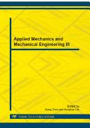 Applied Mechanics and Mechanical Engineering III Pdf/ePub eBook