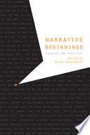 Narrative Beginnings Book