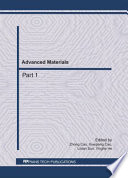Advanced Materials Ceam 2011 Book PDF
