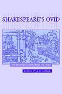 Shakespeare s Ovid
