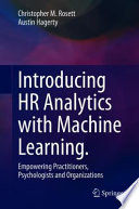 Introducing HR Analytics with Machine Learning.