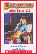 Karen's Ghost (Baby-Sitters Little Sister #12) Pdf/ePub eBook