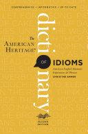 The American Heritage Dictionary of Idioms [Pdf/ePub] eBook