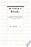 Evolution of Insanity - Hard Cover