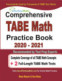 Comprehensive TABE 11   12 Math Practice Book 2020     2021 for Level D