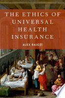 link to The ethics of universal health insurance in the TCC library catalog