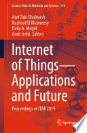Internet of Things—Applications and Future
