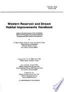 Western Reservoir And Stream Habitat Improvements Handbook