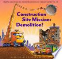 Construction Site Mission  Demolition  Book PDF