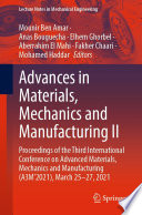 Advances in Materials, Mechanics and Manufacturing II