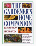 The Gardener S Home Companion Book PDF