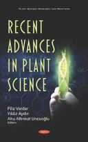 Recent Advances in Plant Science
