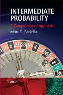 Intermediate Probability