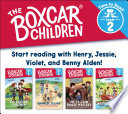 The Boxcar Children Early Reader Set #1 (The Boxcar Children: Time to Read, Level 2)
