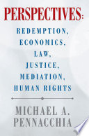 Perspectives  Redemption  Economics  Law  Justice  Mediation  Human Rights Book