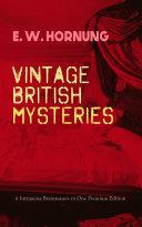 VINTAGE BRITISH MYSTERIES – 6 Intriguing Brainteasers in One Premium Edition