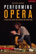 Performing Opera Pdf/ePub eBook