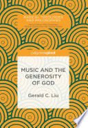 Music and the Generosity of God