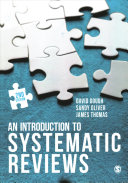 Thumbnail An introduction to systematic reviews