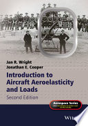 Introduction To Aircraft Aeroelasticity And Loads Book PDF
