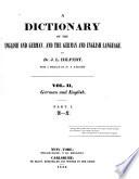 German and English Book