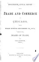 Annual Report of Board of Trade of the City of Chicago for the Year Ended December 31 ...