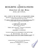 The Building Associations of Connecticut and Other States Examined