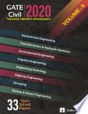 Gate 2020 Civil Engineering Volume Ii