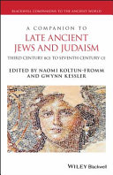 A Companion to Late Ancient Jews and Judaism [Pdf/ePub] eBook