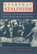 Pdf Everyday Stalinism Telecharger
