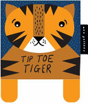 Wee Gallery Cloth Books  Tip Toe Tiger