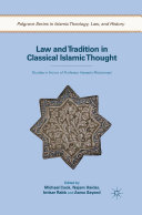 Pdf Law and Tradition in Classical Islamic Thought Telecharger