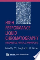 High Performance Liquid Chromatography Book PDF