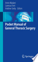 Pocket Manual of General Thoracic Surgery