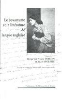 Madame Bovary, le bovarysme et la littérature de langue anglaise