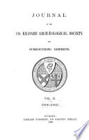 Journal of the Co. Kildare Archaeological Society and Surrounding Districts