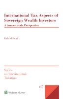 Pdf International Tax Aspects of Sovereign Wealth Investors