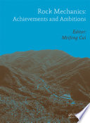 Rock Mechanics  Achievements and Ambitions