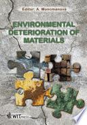 Environmental Deterioration of Materials Book