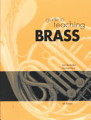 Guide To Teaching Brass Book PDF
