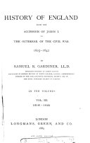 History of England from the Accession of James I to the Outbreak of the Civil War, 1603-1642: 1616-1621